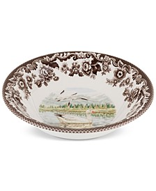 Woodland Snow Goose Cereal Bowl