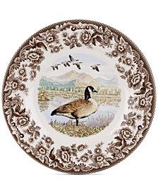 Spode Woodland Canada Goose Salad Plate