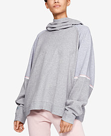 Under Armour Relaxed Fleece Funnel-Neck Hoodie