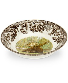Spode Woodland Moose Cereal Bowl