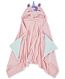 "Urban Dreams Liliana Hooded 25"" x 50"" Throw, Created for Macy's"
