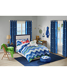 Urban Dreams Ocean Adventures Full/Queen Comforter Mini Set, Created for Macy's