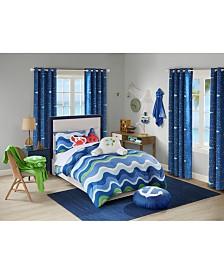 Urban Dreams Ocean Adventures Full/Queen Comforter Mini Set, Created for Macy's