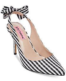 Betsey Johnson Ginjer Slingback Pumps