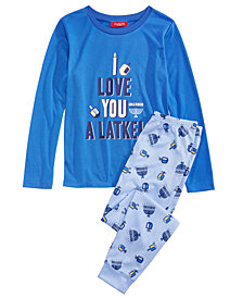 Matching Family Pajamas Love You A Latke Pajama Set, Available in Toddlers and Kids, Created For Macy's