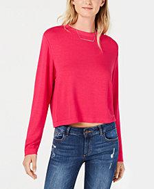Bar III Cropped Sweatshirt, Created for Macy's