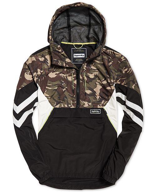 e97978a81 Superdry Men s Jared Overhead Jacket   Reviews - Coats   Jackets ...