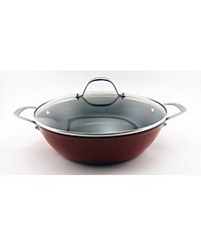 BergHoff Spun Cast Iron 4.5qt Covered Braiser