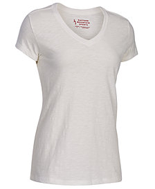 EMS® Women's Organic Slub V-Neck Short-Sleeve Tee