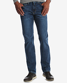 Wrangler Men's Classic-Fit Tapered-Leg Stretch Jeans