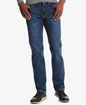 5035e90c7 Wrangler Men's Classic-Fit Tapered-Leg Stretch Jeans
