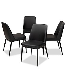 Darcell Dining Chair (Set Of 4), Quick Ship