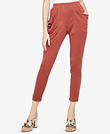 BCBGeneration Drape-Pocket Harem Pants