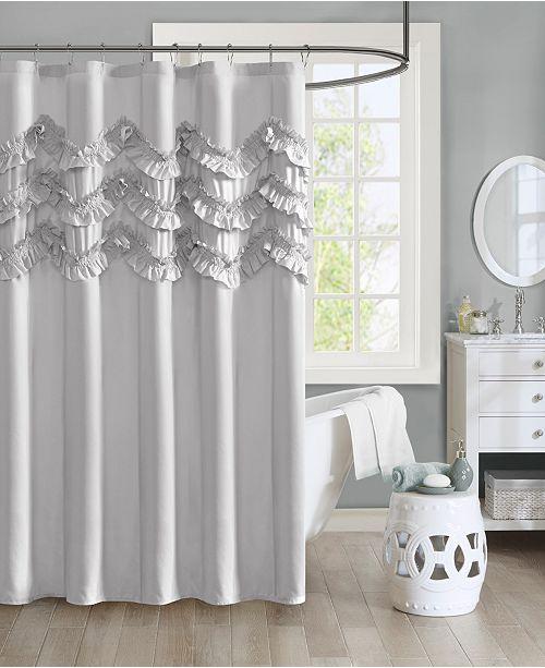 Intelligent Design Aurora 72 X 72 Ruffle Shower Curtain Reviews