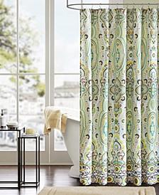 "Intelligent Design Tasia 72"" x 72"" Shower Curtain"