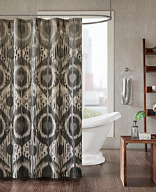 "INK+IVY Orissa 72"" x 72"" Cotton Printed Shower Curtain"