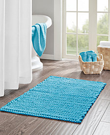 "Madison Park Lasso 24"" x 40"" Yarn Dyed Cotton Chenille Chain Stitch Rug"
