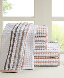 Madison Park Rivington 6-Pc Yarn Dyed Towel Set