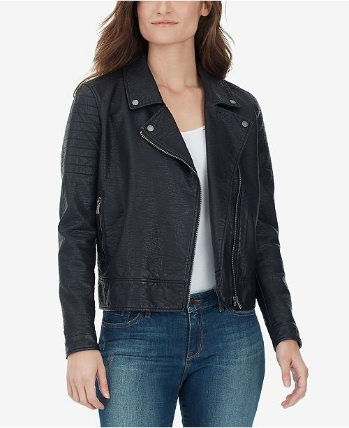 fe7b2655dc WILLIAM RAST Alexa Faux Leather Moto Jacket & Reviews - Jackets ...