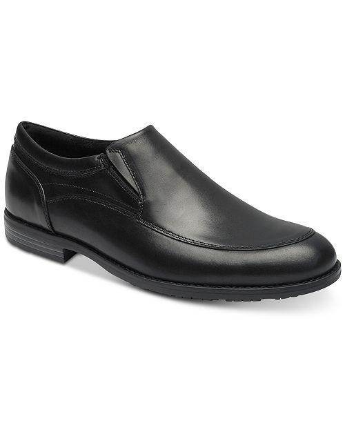 Rockport Men's Dustyn Leather Slip-Ons