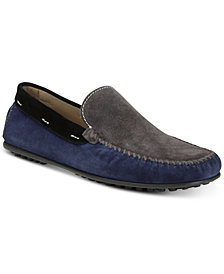 Donald Pliner Men's Santos Colorblocked Moc-Toe Slip-Ons