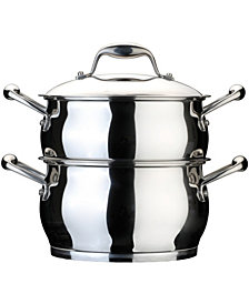 BergHoff Zeno Stainless Steel 4-qt Double Steamer