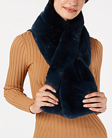 I.N.C. Faux-Fur Stole, Created for Macy's