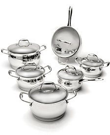 BergHoff Zeno Stainless Steel 12pc Cookware Set
