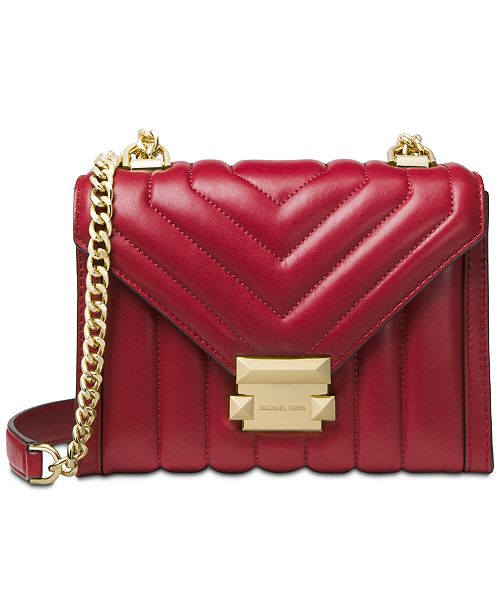Michael Kors Whitney Mini Quilted Leather Shoulder Bag