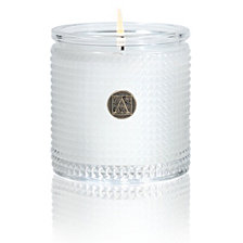 Aromatique Bourbon & Bergamot Textured Glass Candle