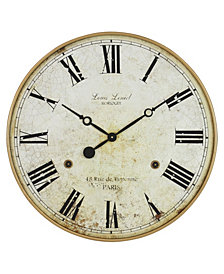 Farmhouse Windmill Wall Clock