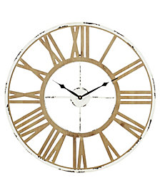 Janelle Farmhouse Wall Clock