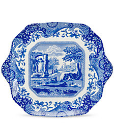 Spode Dinnerware, Blue Italian English Bread and Butter Plate