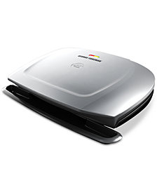 George Foreman 9-Serving Basic Plate Electric Grill & Panini Press