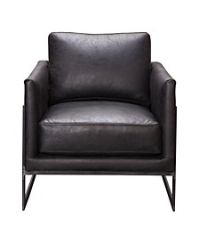 Luxe Club Chair Black