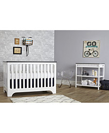 Suite Bebe Brooklyn Island 3-In-1 Convertible Crib