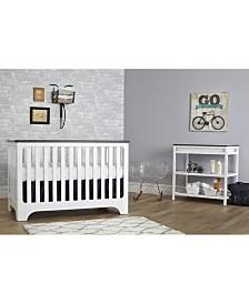 Suite Bebe Brooklyn Island 3-In-1 Convertible Crib
