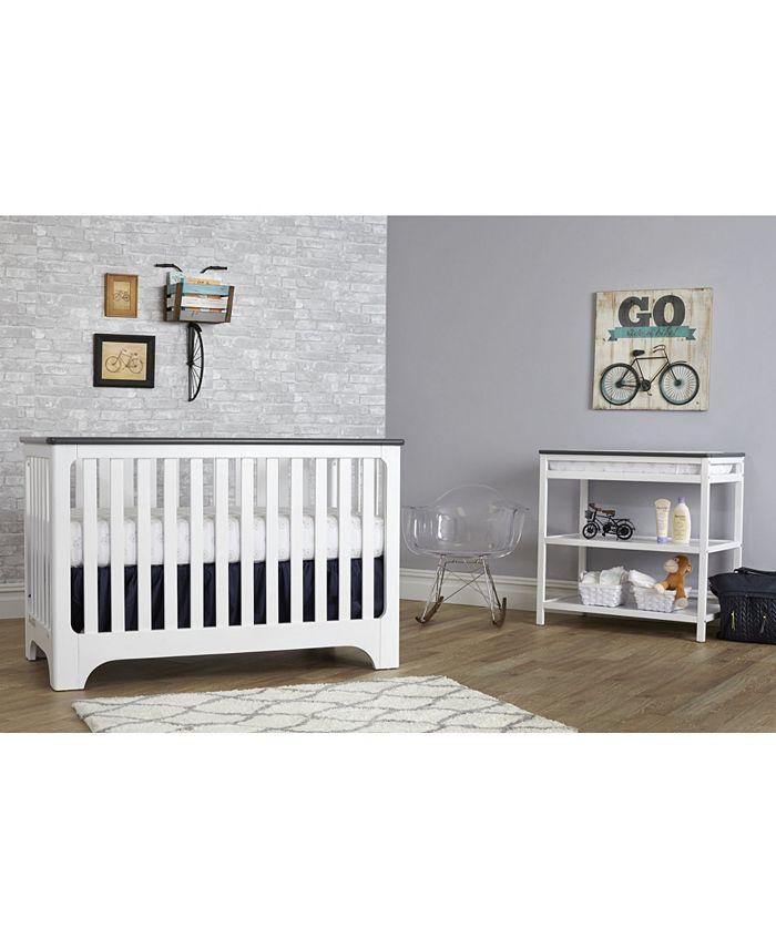 Centennial - Suite Bebe Brooklyn Island 3-In-1 Convertible Crib