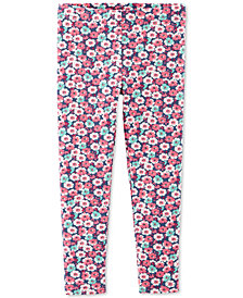 Carter's Baby Girls Floral-Print Leggings