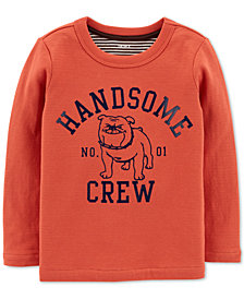 Carter's Baby Boys Handsome Crew-Print T-Shirt