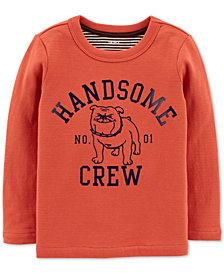 Carter's Baby Boys Handsome Crew-Print T-Shirt