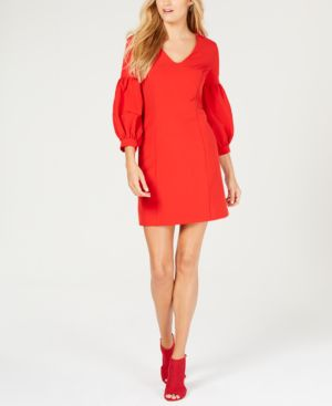 Laundry by Shelli Segal Puff-Sleeve Sheath Dress 6836169