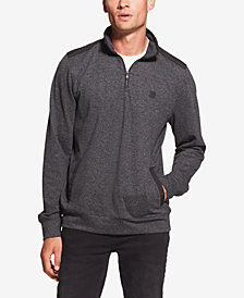 DKNY Men's Knit Quarter-Zip Shirt