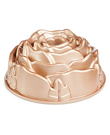 Martha Stewart Collection Rose Bundt Pan, Created for Macy's