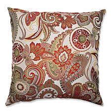 """Crazy Rosewood 24.5"""" Floor Pillow"""