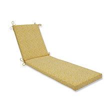 Herringbone Egg Yolk Chaise Lounge Cushion