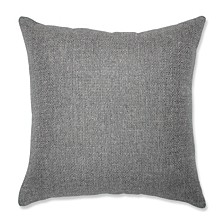 "Sonoma Pewter 16.5"" Throw Pillow"