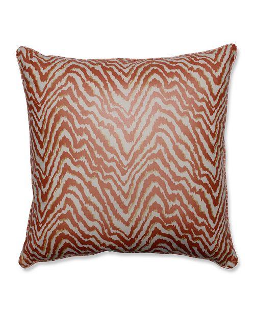 """Pillow Perfect Sleek Spice 25"""" Floor Pillow"""