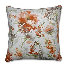 "Pretty Perennials Nude 25"" Floor Pillow"