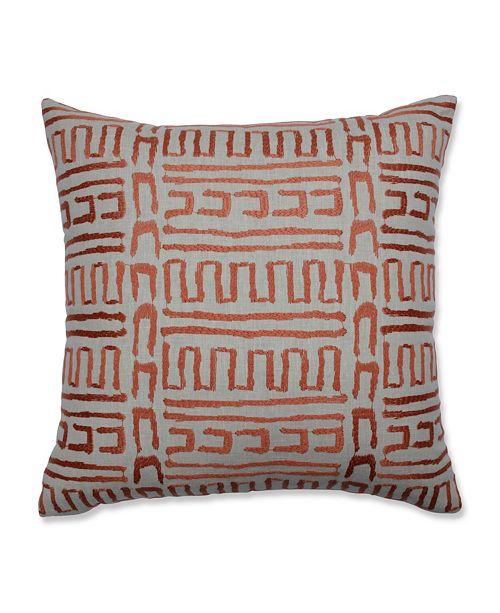 """Pillow Perfect Primitive Sunset 18"""" Throw Pillow"""